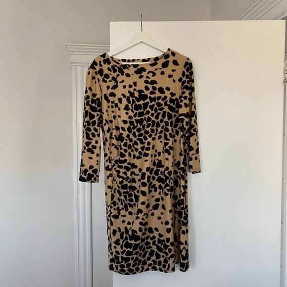 Jude Connally Dresses & Skirts - Jude Connally Animal Print Office Dress